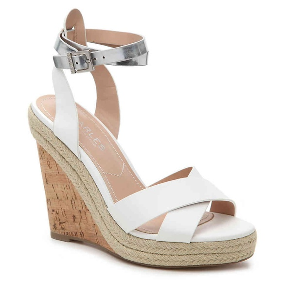 c2a6608680bd1b New Charles by Charles David Brit Wedge Sandals